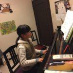 ピアノ楽しいよ♪